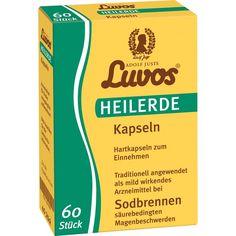LUVOS Heilerde Kapseln gegen Sodbrennen:   Packungsinhalt: 60 St Kapseln PZN: 05701351 Hersteller: Heilerde-Gesellsch.LUVOS JUST…