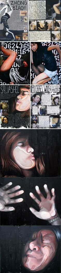 IB art workbook examples