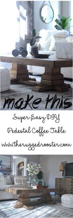 Build a DIY Coffee table,