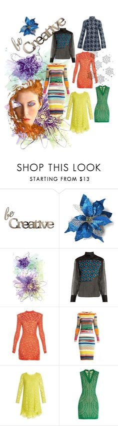 """Be Creative!"" by lalu-papa ❤ liked on Polyvore featuring Letter2Word, Delpozo, Balmain, Missoni, ADAM and Marques'Almeida"