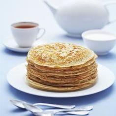 Buchweizen-Pfannkuchen (Grundrezept)   Buckwheat Pancakes Basic DasKochrezept.de #pfannkuchen #pancake #eierkuchen #breakfast #fruehstueck #suess #herzhaft #warm #rezept #daskochrezept #buckwheat #buchweizen #grundrezept #teig #dough #wheatfree #weizenfrei #glutenfrei #glutenfree