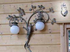 Кованые фонари для уличного и внутреннего освещения