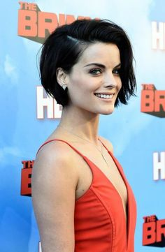 Jaimie Alexander Photos: Premiere of HBO's 'The Brink' - Red Carpet - Looking for Hair Extensions to refresh your hair look instantly? KINGHAIR® only focus on premium quality remy clip in hair. Short Hairstyles For Women, Bob Hairstyles, Hairstyle Short, Choppy Haircuts, Hairstyle Ideas, Black Hairstyles, Long Pixie Haircuts, Woman Hairstyles, Natural Hairstyles