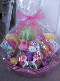 Easter basket ideas for babies and toddlers 95 ideas and free baby easter basket negle Image collections