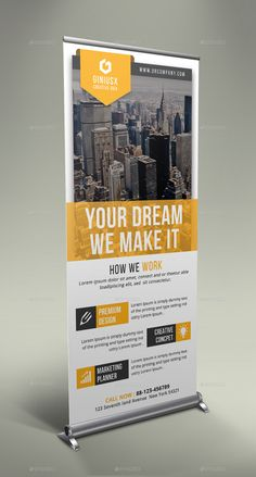 Corporate Roll Up Banner Bundle - Graphic Sonic Rollup Design, Rollup Banner Design, Banner Stand Design, Banner Design Inspiration, Brochure Inspiration, Standing Banner Design, Magazine Ideas, Standee Design, Pop Up Banner