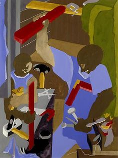 Jacob Lawrence - Artists - DC Moore Gallery