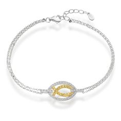 Aurora Bracelet ll Set in delicate sterling silver, each piece in the Aurora collection reflects the optimism of new light, with fine rays of golden citrine and clear white diamonds, evocative of beams of sunshine and the break of day! shardsoflondon.com  #Jewellery #Jewelry