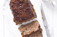 Hairy Bikers three meat meatloaf and gravy Meatloaf Recipes, Meat Recipes, Dinner Recipes, Cooking Recipes, Hamburger Recipes, Savoury Recipes, Chef Recipes, Copycat Recipes, Kitchens