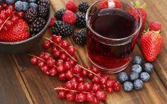 Suco Detox de Frutas Vermelhas Para Perder Até 7kg