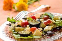Receita de Beringela à Vinagrete em receitas de saladas, veja essa e outras receitas aqui!