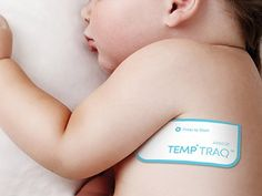 This adhesive patch houses a paper-thin thermometer. It reads the patient's temperature every 10 seconds
