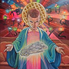Saint Eleven by Dave MacDowell - Stranger Things art