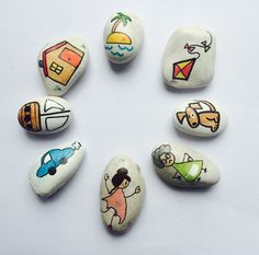 Story Stones General mix by LittlebyNature on Etsy