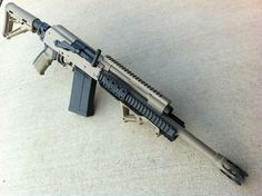 ETAC/HALEY CUSTOM SAIGA 12GA