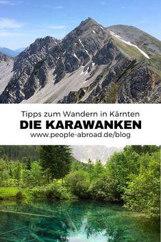 Die Karawanken: Wandern in der Region Rosental – Best Europe Destinations Europe Destinations, Camping And Hiking, Hiking Trails, Camping Tips, Rafting, Outdoor Reisen, Carinthia, Reisen In Europa, Backpacking Europe