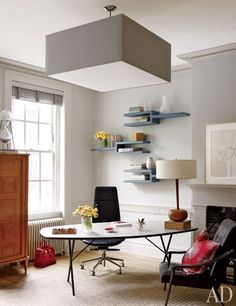 Leroy Street Studio decorates a Modern Manhattan Townhouse : Architectural Digest