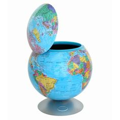 iTouchless Sensor 360-degree Globe Storage Container |