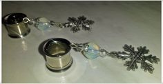 Custom Rocks-Plugs&More  Snow Flakes♥♥♥ - Versuchskaninchen Produkttests