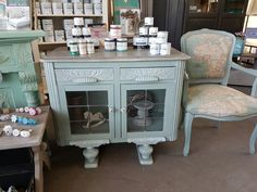 Inside lovely furniture and Annie Sloan Chalkpaint