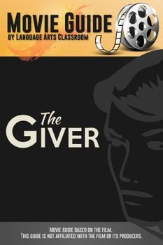 """This guide accompanies the movie """"The Giver."""" The movie is rated PG-13. The guide has 15 questions in chronological order of the movie and three critical questions, which allows for more sophisticated answers for older students."""