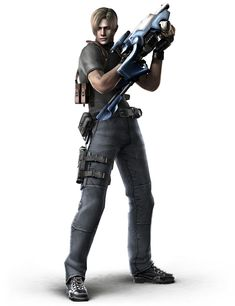 leon s kennedy | This is the main protagonist of the game, Leon S. Kennedy. Notice how ...