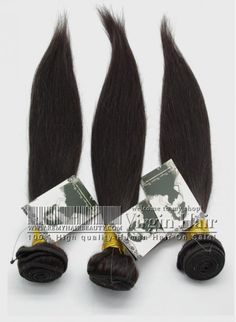 3 Bundles Brazilian Real Human Straight Hair Extensions
