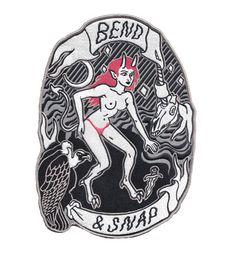 Bend & Snap Back Patch