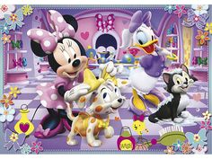 Minnie Mouse and Daisy Duck |