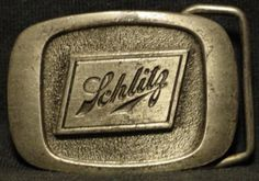 1983 Schlitz Belt buckle