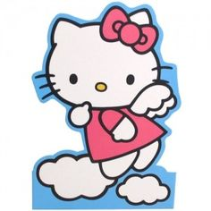 Hello Kitty Stand-up Card: Angel KT