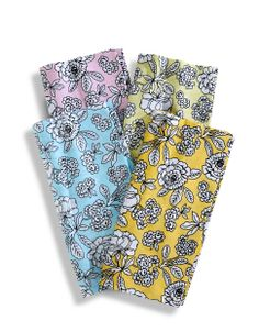 Set of 4 Lila Bouquet Napkins from Distinctly Home | Hudson's Bay