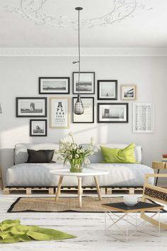 Scandinavian living room by Milan Stevanovic