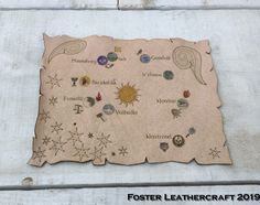 Adventure Map, Dramatic Effect, Leather Craft, The Fosters, Vintage World Maps, Products, Leather Crafts, Gadget