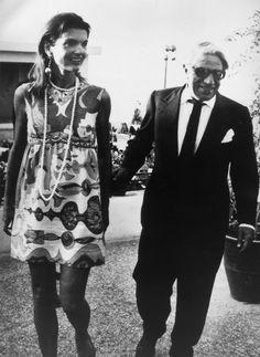 (Jacqueline Onassis il giorno del suo quarantesimo compleanno)