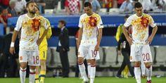 Berakhirnya Tiki-taka, Kegagalan Spanyol di Piala Eropa 2016