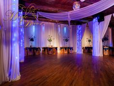 After the ceremony MagicDecor Transform the dumbo loft in to enchanting occasion.