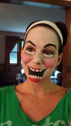 Smile!  Face paint