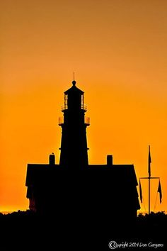 Don Gargano Photography - Portland Headlight at sunrise, Cape Elizabeth, Maine 08/20/2014