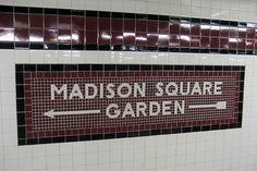 New York Subway, Nyc Subway, Subway Tile, Go Transit, 34 Street, Metro Subway, Underground Cities, S Bahn, Letter Form
