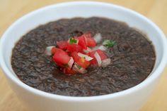 Soup Recipe: Vegetarian Black Bean Soup