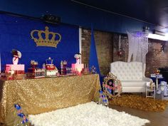 Prince Baby Shower Party Ideas | Photo 8 of 62 | Catch My Party