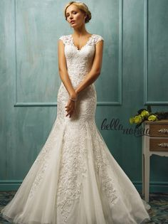 Wedding drees front