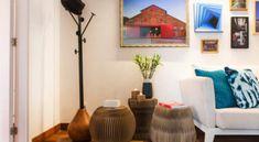 Cabideiro: 50 modelos para organizar e decorar sua casa Home Staging, E Design, Home Living Room, Ideas Para, Sweet Home, Design Inspiration, Interior, House, Home Decor