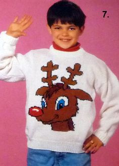 Knit a supercool wicked christmas jumper!