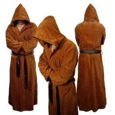 Jedi bathrobe. I so want this!