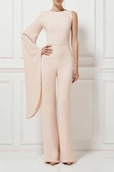 39 Elegant Cute Jumpers Jumpsuits For Women. casual jumpsuit outfit womens fashion inspiration and ideas. Jumpsuit Elegante, Jumpsuit Dressy, Bridal Jumpsuit, Jumpsuit Outfit, Jumpsuit With Sleeves, Elegant Jumpsuit, Black Jumpsuit, Dressy Jumpsuits Evening Wear, Jumpsuits For Women Formal