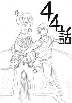 From Horikoshi's Twitter account. - My Hero Academia