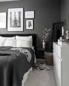 Royal bedding from Royfort in white and grey room ideas grey Room Ideas Bedroom, Bedroom Colors, Home Decor Bedroom, White Bedroom Decor, Ikea Bedroom, Minimalist Bedroom, Modern Bedroom, Swedish Bedroom, Grey Room
