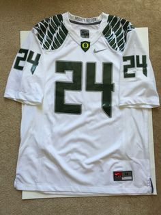 Nike Oregon Ducks Game Jersey #24 Mens Size M #Nike #OregonDucks