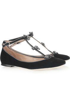 Chloe bow shoes